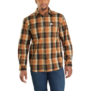 Carhartt Men's Hubbard Flannel Long Sleeve Shirt 103822